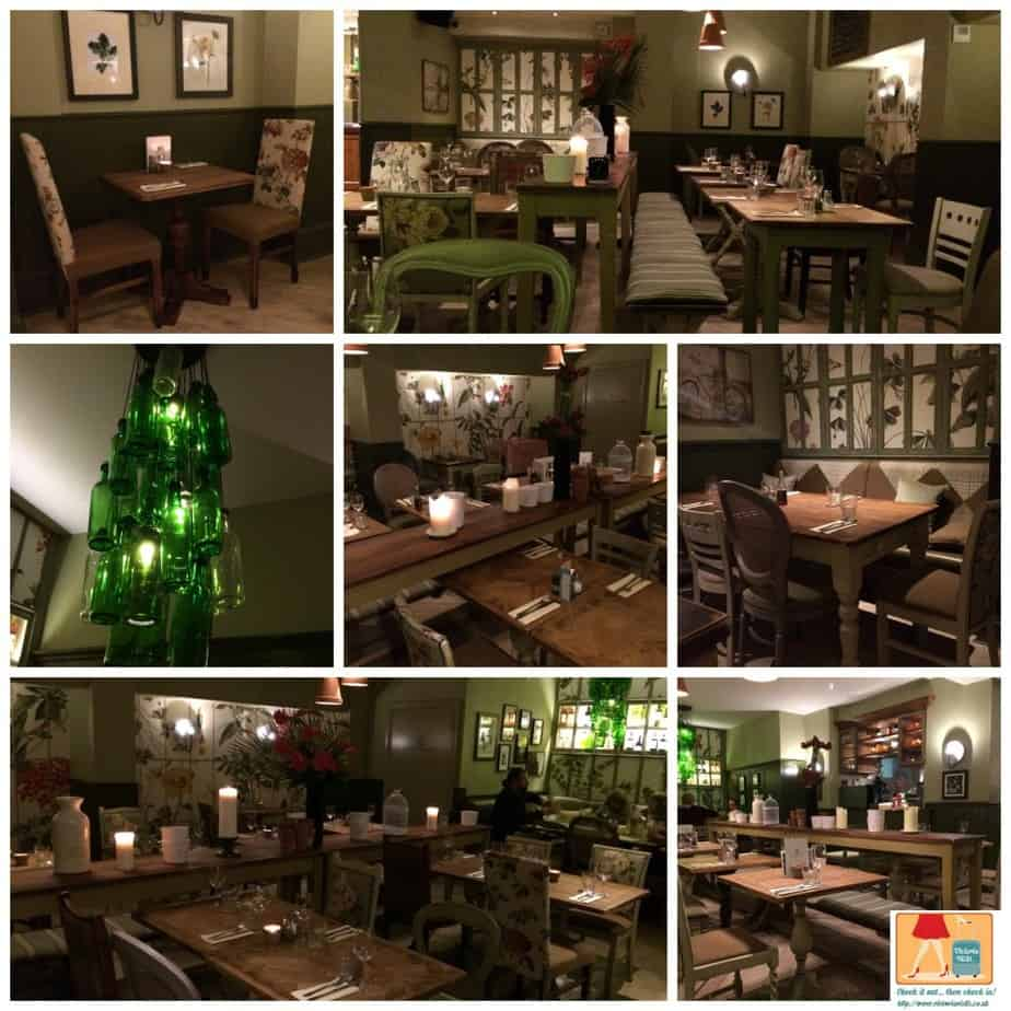 A Review of Fentons Restaurant at The Orange Tree in Richmond, Surrey.