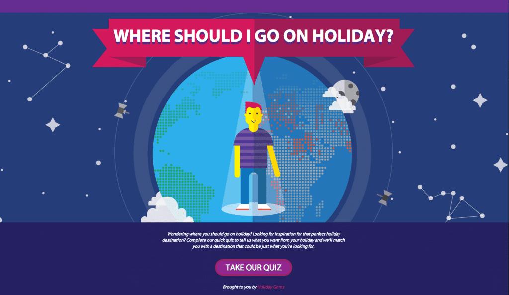 Where Should I Go On Holiday?