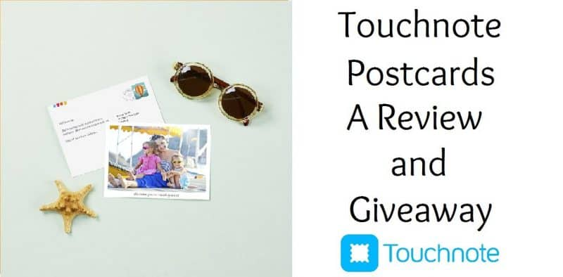 Touchnote Postcards Review and Giveaway